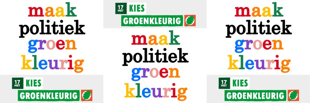 maak politiek groenkleurig